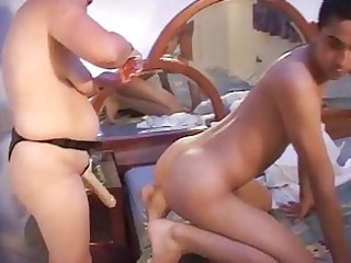 wife strapon and fetish - scene 11