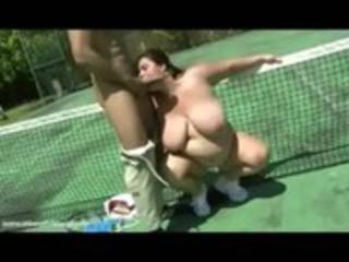 big beautiful woman wife rikki bonks stud tennis