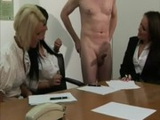 cfnm office milfs sexy for cock