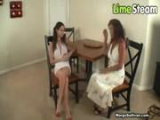 mother catches daughter masturbating