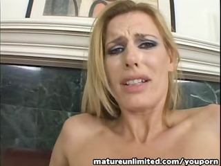 mature cunt riding on top coarse ...
