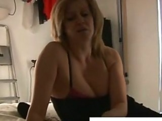 concupiscent older blonde lady desires knob