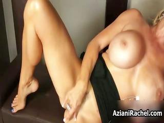 Rachel Aziani with her massive big