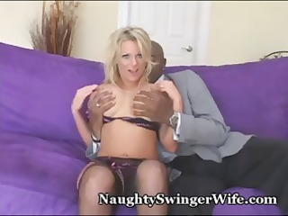 breasty blond babe is wonderful to fuck and this