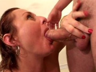 mature wench banged by juvenile man