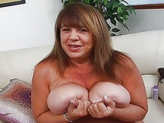 mature momma with supplementary biggest bosom