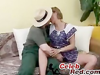 gardener copulates bored housewife