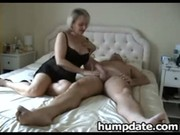 breasty older wife with nice large butt rides