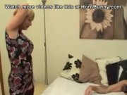 british mamma wakes up her son and sucks his dick