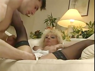 blonde gets vagina licked and fisted hard
