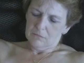 57 years old wife masturbating. non-professional
