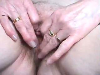 delightsome british granny has her love tunnel