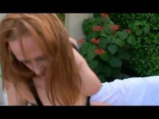 bulky redhead d like to fuck julie simone is sexy