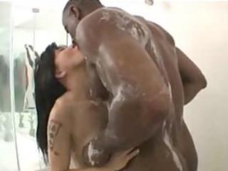 babe momo black ebony cumshots ebon swallow