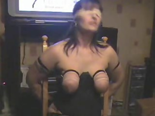 tit whipping my wench wife