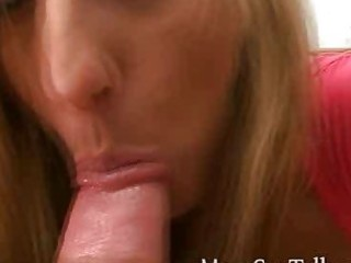 lascivious blond mother i gives pov irrumation to