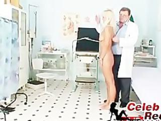 slender golden-haired cougar perverted cum-hole