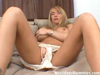 mature woman with biggest mambos masturbates