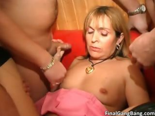 Hot nasty big butt blonde MILF slut part5