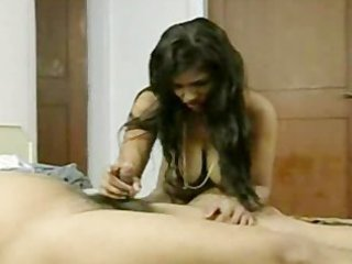 Short dick desi boy trying to please wife with
