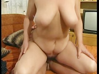 busty granny got her hairy pussy fucked