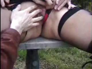 danielle is a older french doxy who copulates