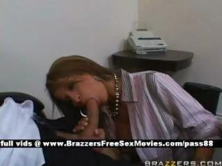 older redhead bitch at work receives a blowjob