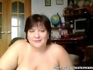 Busty Housewife Tessa 41 fingering at home