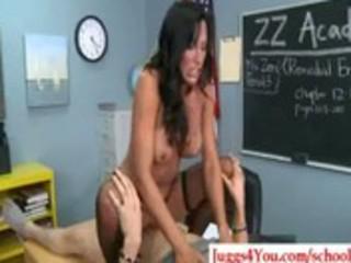 53-big boob milf teacher having wild hardcore sex