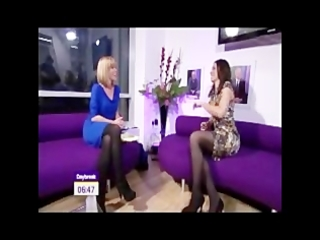two itv milfs upskirt-christine bleakley and kate