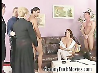 aged harlots fucking younger studs