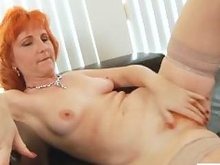 redhead mother i copulates shaggy muff