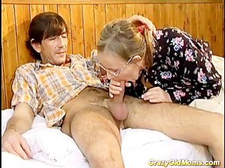 eager old mommy acquires it is unfathomable sex