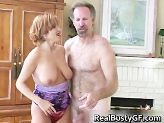 Fine ass hot mom licking fat cock part2