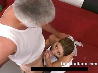 nipotina e zio italian non-professional