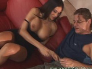 breasty hawt wife fucked hard by a pornstar and