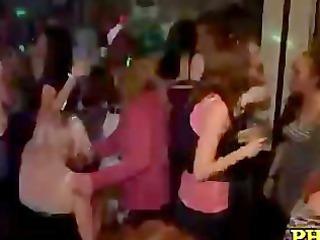 dripping vagina on the dance floor