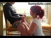 hawt redhead mother i gives wonderful oral job