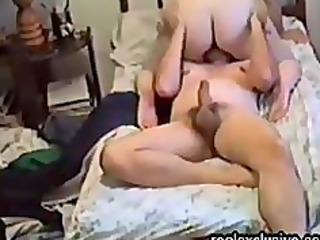 home movie scene with hirsute cheating mama liza