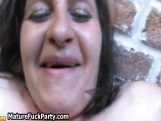 slutty older group sex party