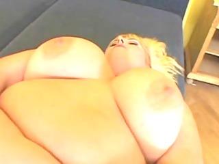 blonde large charming