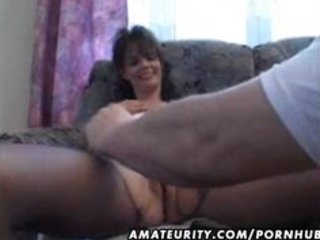mature amateur wife homemade fucking with