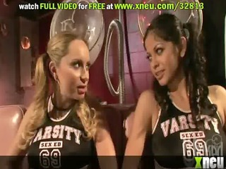 sexy lesbo milfs play with every