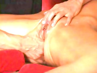 excited dilettante housewife receives fingered