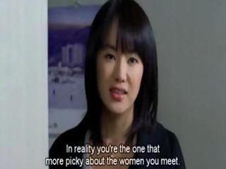 hot oriental wife tries to entice her hubby with