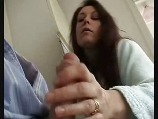 british wife gives carnal stroke and engulf to