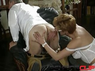 older sex with hirsute milf and her doctor