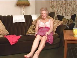 alluring shaggy old granny fingering intro