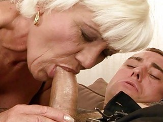 hawt grandma fucking a chap