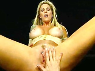milfs with large tits and slit piercing rides her